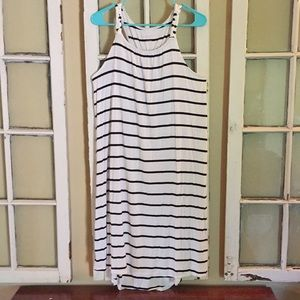 Liz Lange Maternity Striped Dress Size S